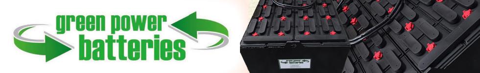 Green Power Batteries Logo